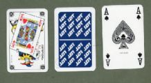 Advertising playing cards Lot Polish Airlines